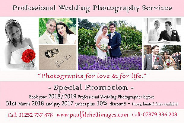 Farnham based Wedding Photographer